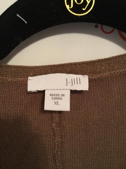 J-Jill-Size-XL-Brown-34-Length-Sleeve-Cardigan_2881B.jpg
