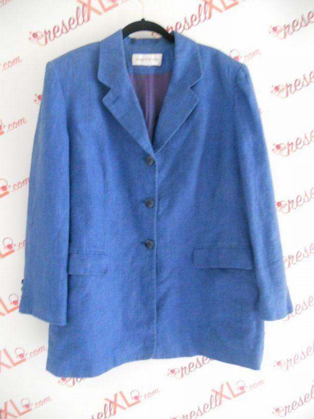 Jones-New-York-Size-XL-Royal-Blue-Linen-Blazer-Jacket_2970A.jpg