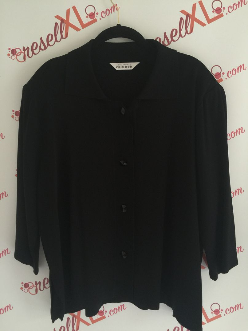 Misook-Size-XL--Black-Button-Up-Sweater-Jacket_2989A.jpg