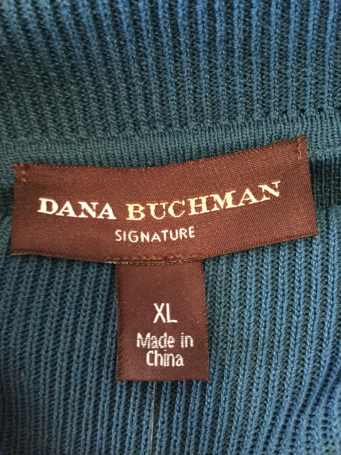 NWT-Dana-Buchman-Size-XL-Blue-High-Neck-Cardigan_2191D.jpg