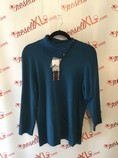 NWT-Dana-Buchman-Size-XL-Blue-High-Neck-Cardigan_2191A.jpg