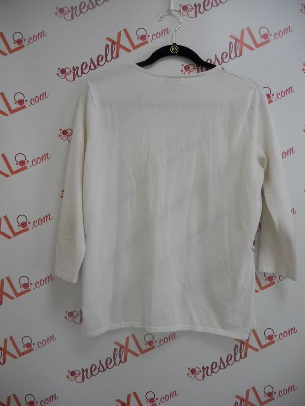Nordstrom-Size-XL-White-Lightweight-Sweater-Top-w-Stripes_2962B.jpg