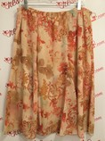 Preswick--Moore-Size-XL-Peach-Floral-Elastic-Skirt_3144A.jpg