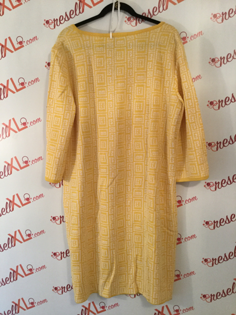 St.-John-Collection-Size-16-Yellow-Geometric-Print-34-Sleeve-Shift-Dress_3182B.jpg
