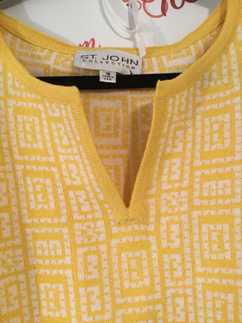 St.-John-Collection-Size-16-Yellow-Geometric-Print-34-Sleeve-Shift-Dress_3182C.jpg