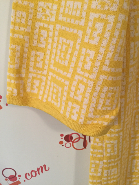 St.-John-Collection-Size-16-Yellow-Geometric-Print-34-Sleeve-Shift-Dress_3182D.jpg