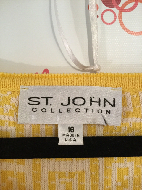 St.-John-Collection-Size-16-Yellow-Geometric-Print-34-Sleeve-Shift-Dress_3182E.jpg