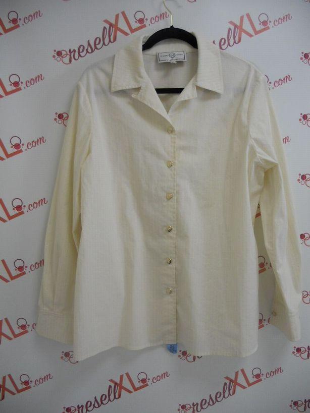 St.-John-Sport-Size-L-Cream-with-Golden-stripes-Shirt_2961A.jpg