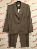 Talbots-Size-1618W-2-PC-wool-brownivory-striped-pantsuit-NWT_3131A.jpg