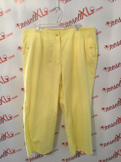 Talbots-Size-18W-Cropped-Yellow-Pants_3209A.jpg
