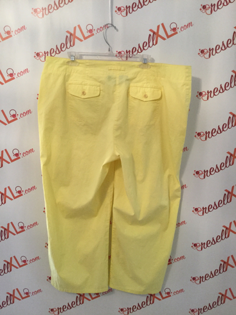 Talbots-Size-18W-Cropped-Yellow-Pants_3209B.jpg