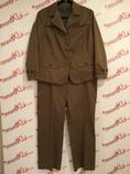 Talbots-Size-18W-petite-2-PC-Brown-Pantsuit_3072A.jpg