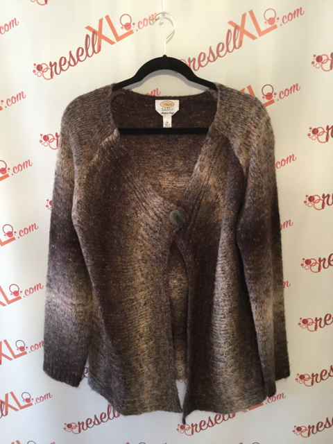 Talbots-Size-1X-Brown-Marble-Acrylic-Blend-One-Button-Cardigan_2199A.jpg