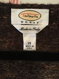 Talbots-Size-1X-Brown-Marble-Acrylic-Blend-One-Button-Cardigan_2199C.jpg