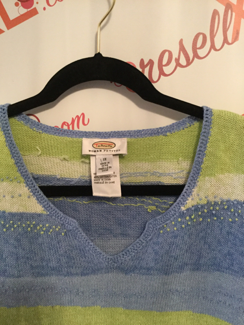 Talbots-Size-1X-Green-and-Blue-Stripe-Sweater_2886F.jpg