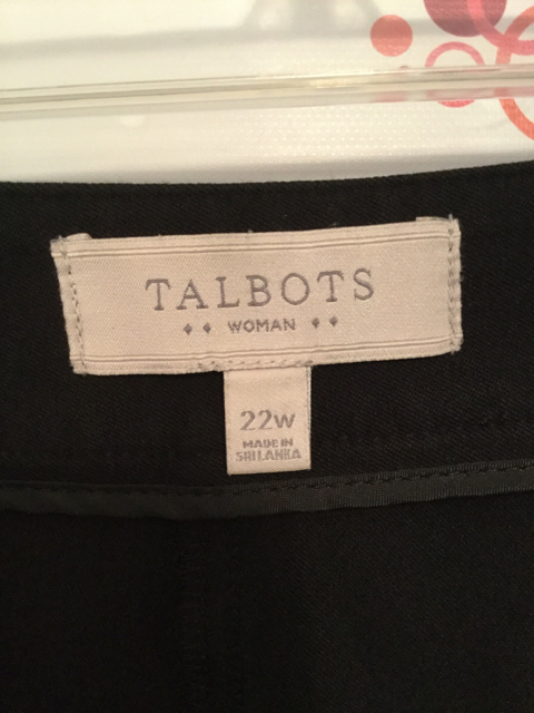 Talbots-Size-22W-Black-Short-Pants_2810E.jpg