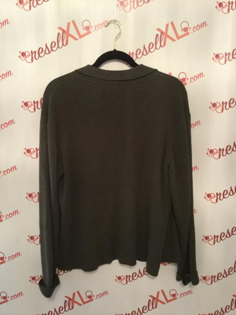 Talbots-Size-XL-2-PC-Green-Cardigan---Short-Sleeve-Sweater_2885H.jpg