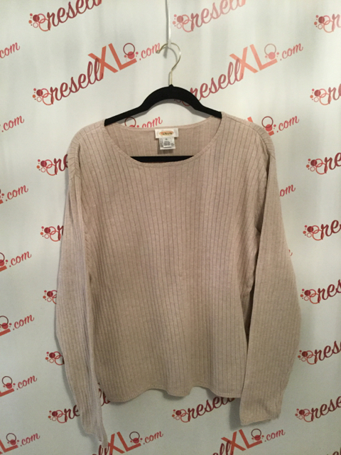 Talbots-Size-XL-Beige-Long-Sleeve-Sweater_2891A.jpg