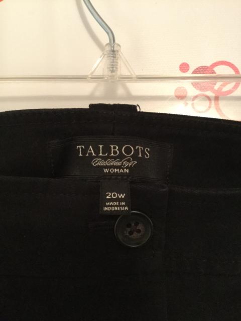 Talbots-Woman-Size-20W-Black-Pants_2814C.jpg