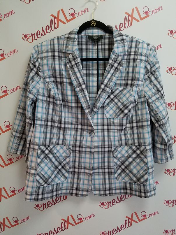 Talbots-Woman-Stretch-Size-18W-Plaid-Single-Button-Blazer_3077A.jpg