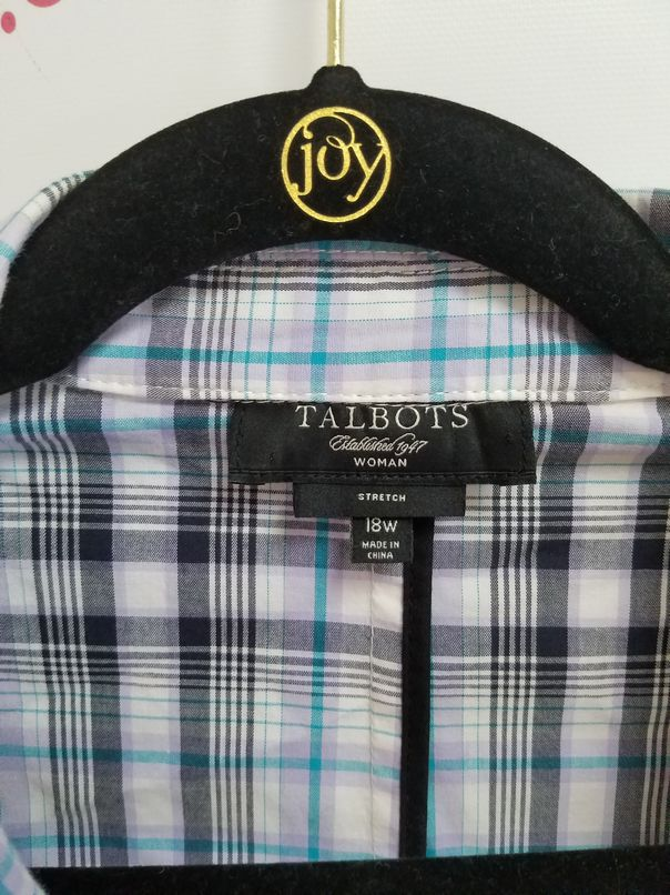 Talbots-Woman-Stretch-Size-18W-Plaid-Single-Button-Blazer_3077C.jpg