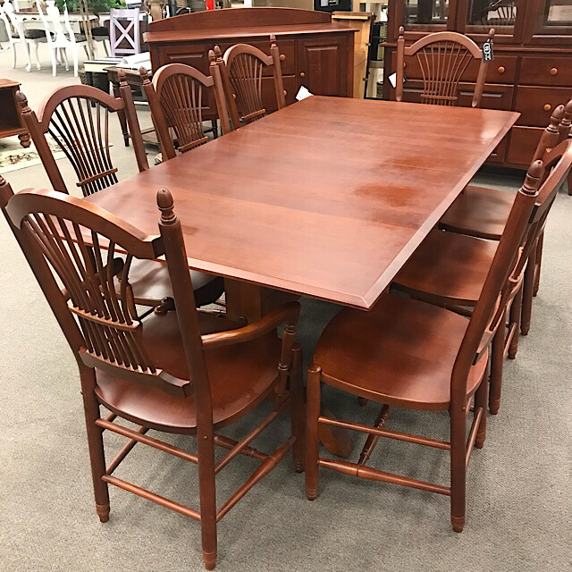 Cochrane Dining Table Chairs Consign To Design Llc