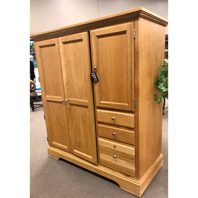 Hooker Computer Armoire | Consign To Design