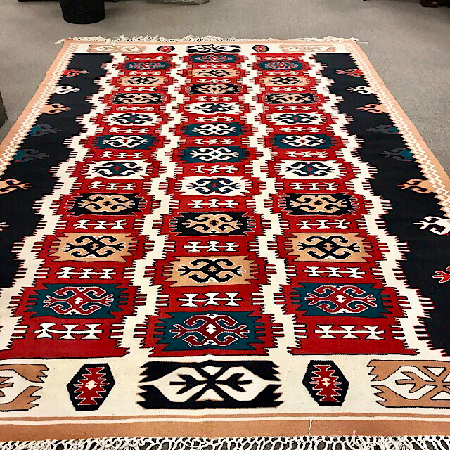Kilim Wool Area Rug 8x11 Consign To Design