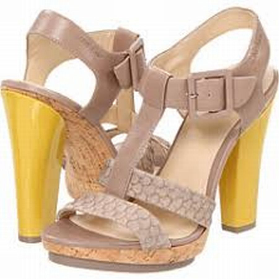 Calvin-Klein--Sz-7-T-Strap-Sandal-Yellow-Heel-Shoe-Cork-Platform-Snake-Embossed_6607A.jpg
