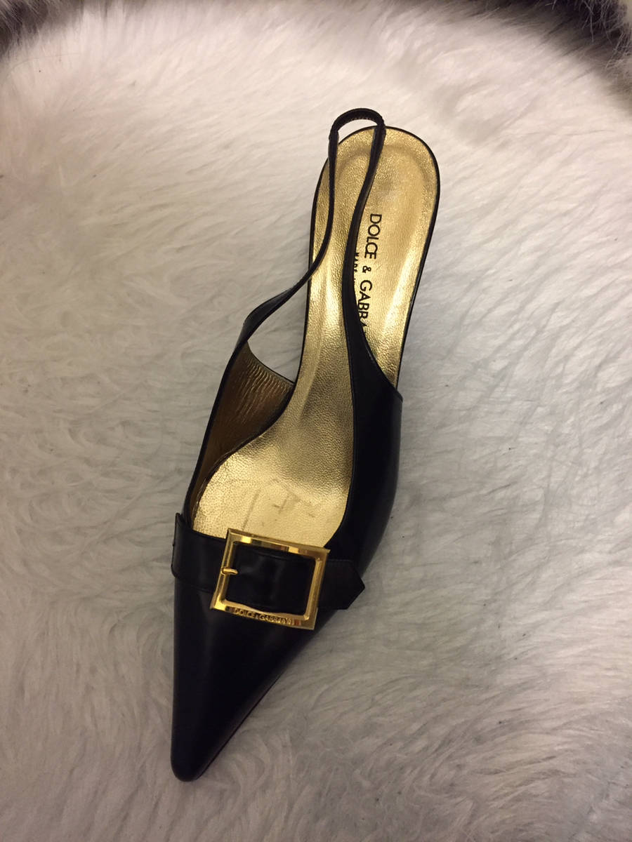Dolce--Gabbana-Black-Leather-Pointed-Toe-Gold-Buckle-Slingback-Shoe-Pump_6369A.jpg