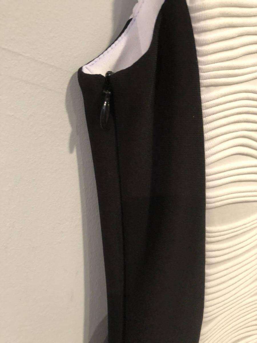 Joseph-Ribkoff-Hartley-Dress-Cocktail-Sz-68-White-Textured-1-Shoulder-Body-Con_7900D.jpg