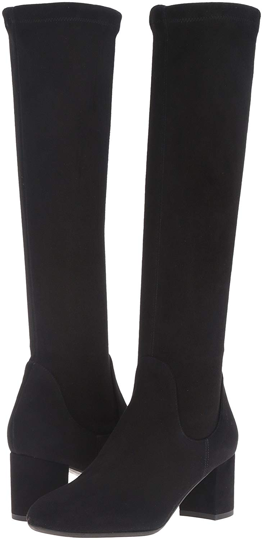 L.K.-Bennett-Keri-Boots-37.5-Black-Suede-Slouch-Stretch-Designer-Shoe-Go-Go_15112D.jpg