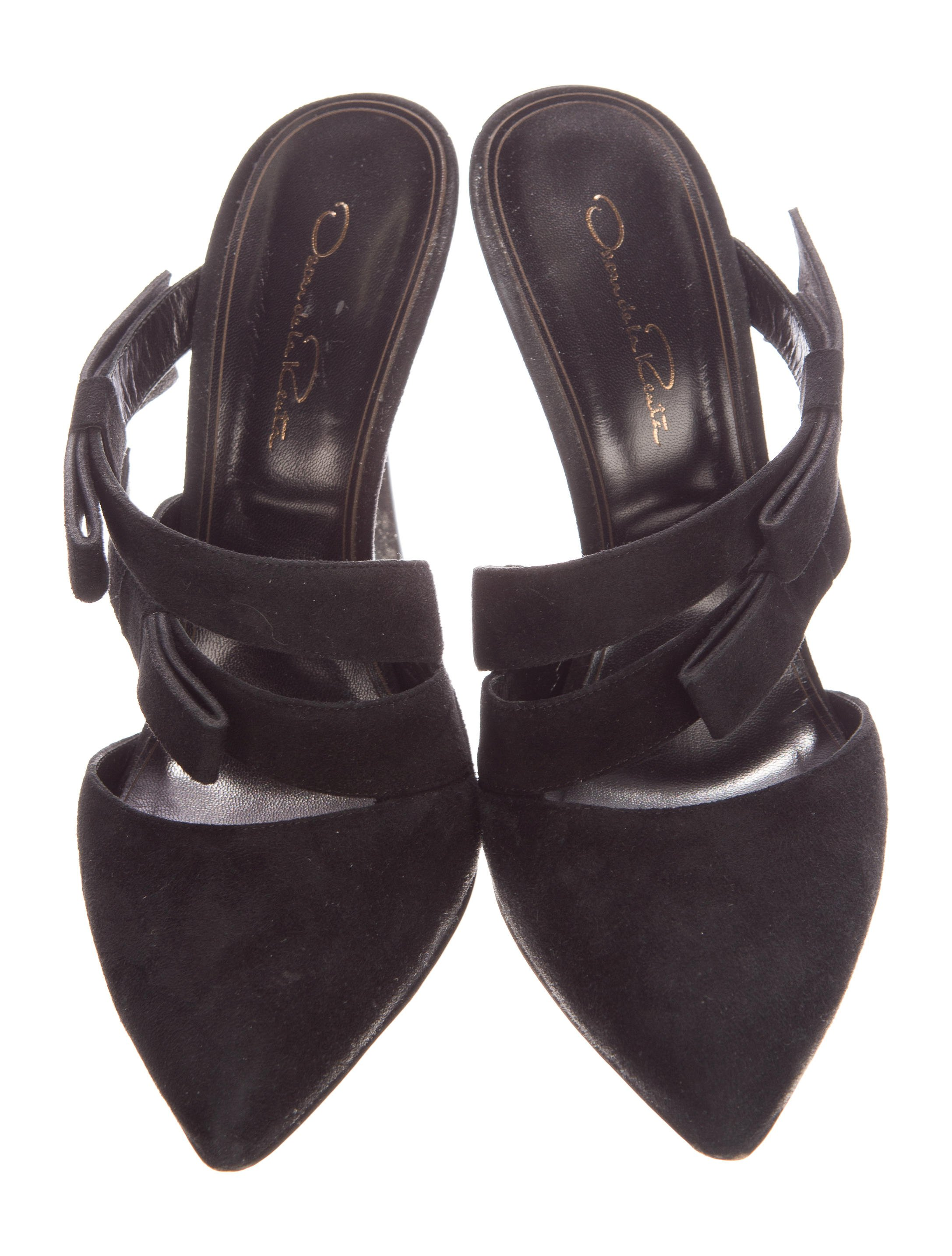 Oscar-De-La-Renta-Black-Suede-Mule-Slide-Pump-Shoe-Holiday-Bow-Designer-Sz-38-8_5975C.jpg