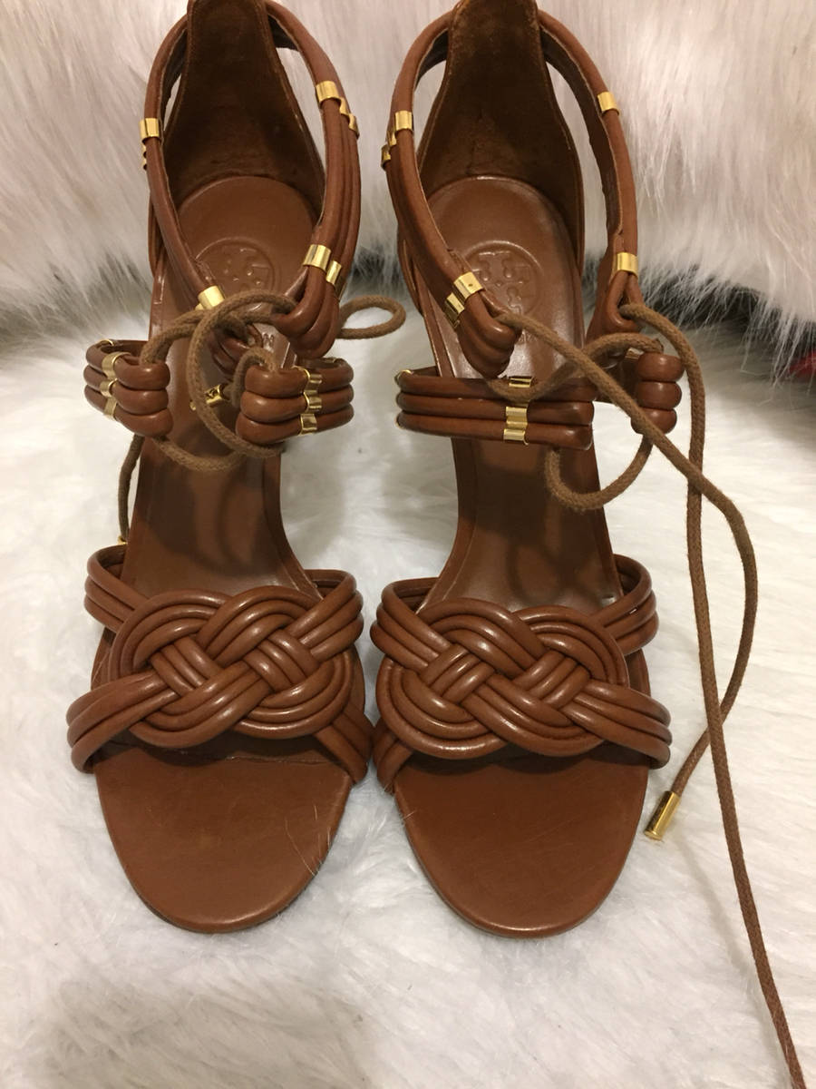Tory-Burch-Shoe-Brown-8.5-Adriana-Sandal-Shoe-