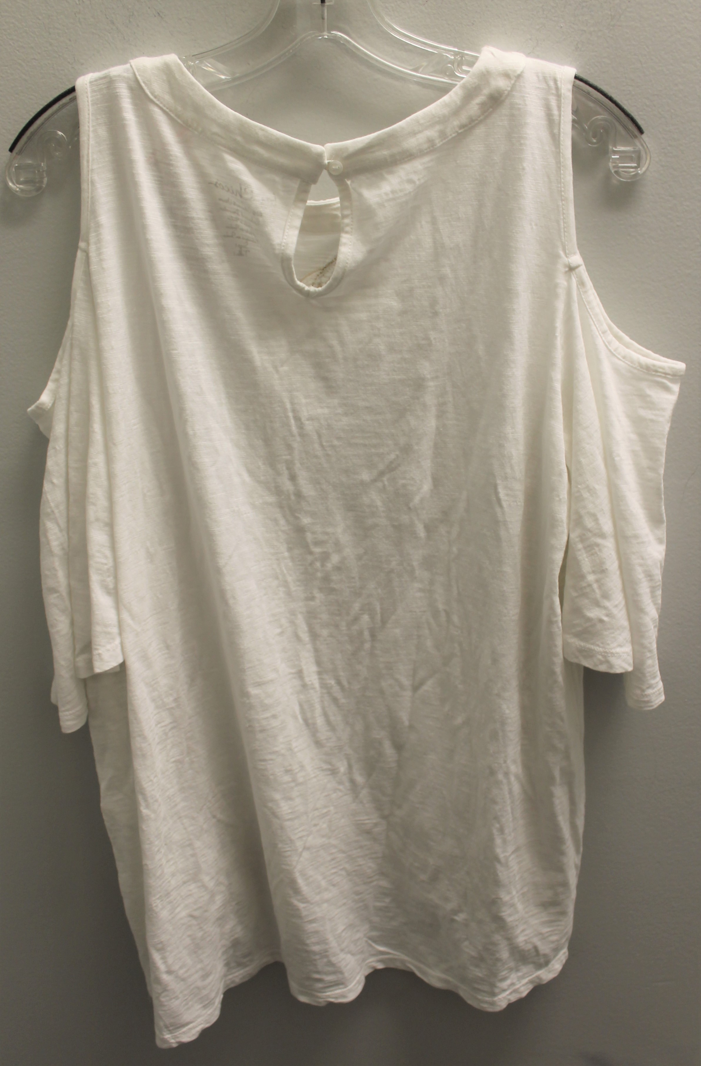 CHICOS-Size-M-white-and-gold-Cotton-Blend-Embroidered-Short-Sleeve-Top_89490D.jpg