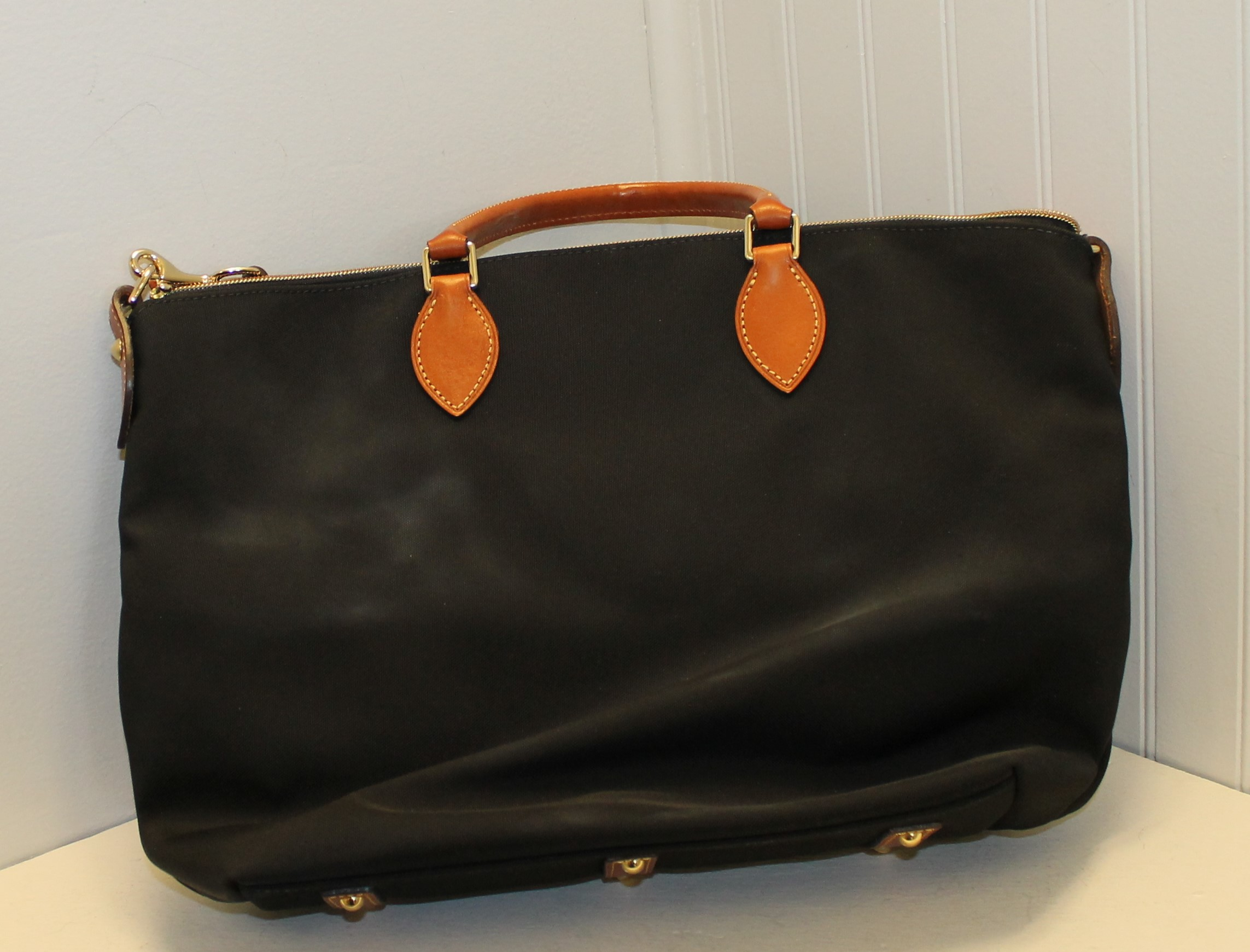 DOONEY--BOURKE-black-and-brown-CANVAS--LEATHER-Solid-TOTE_87772B.jpg