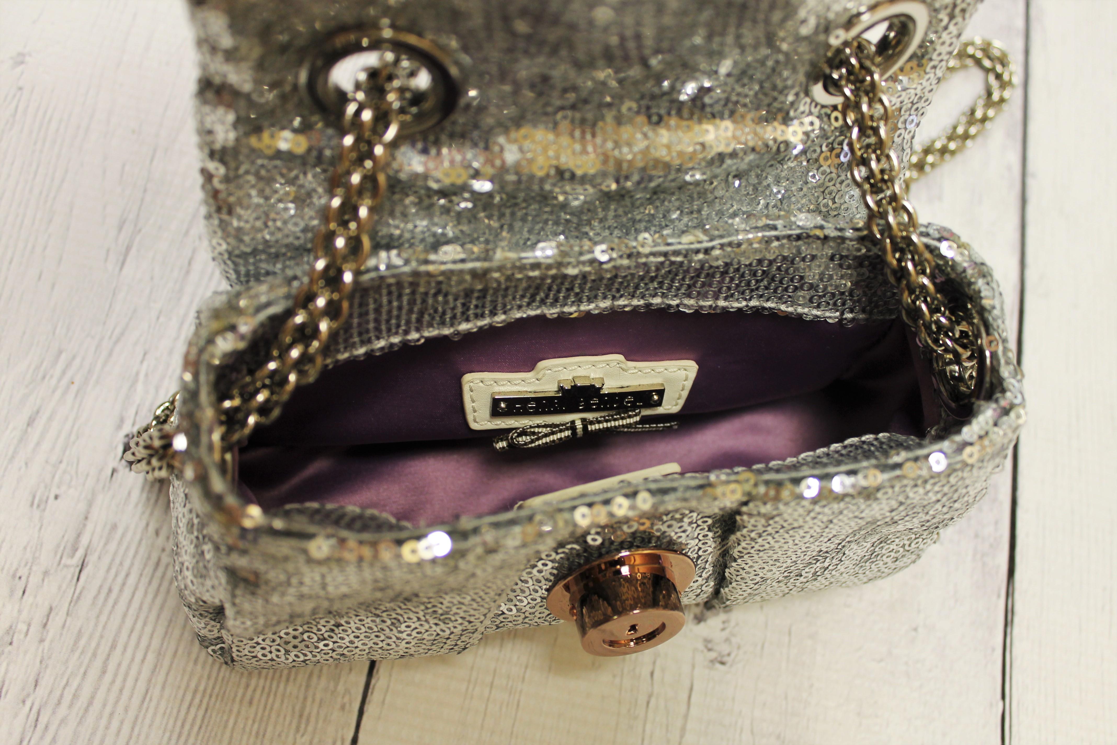 HENRI-BENDEL-Silver-SEQUINS-SPARKLES-long-strapsmall-bag_61617F.jpg