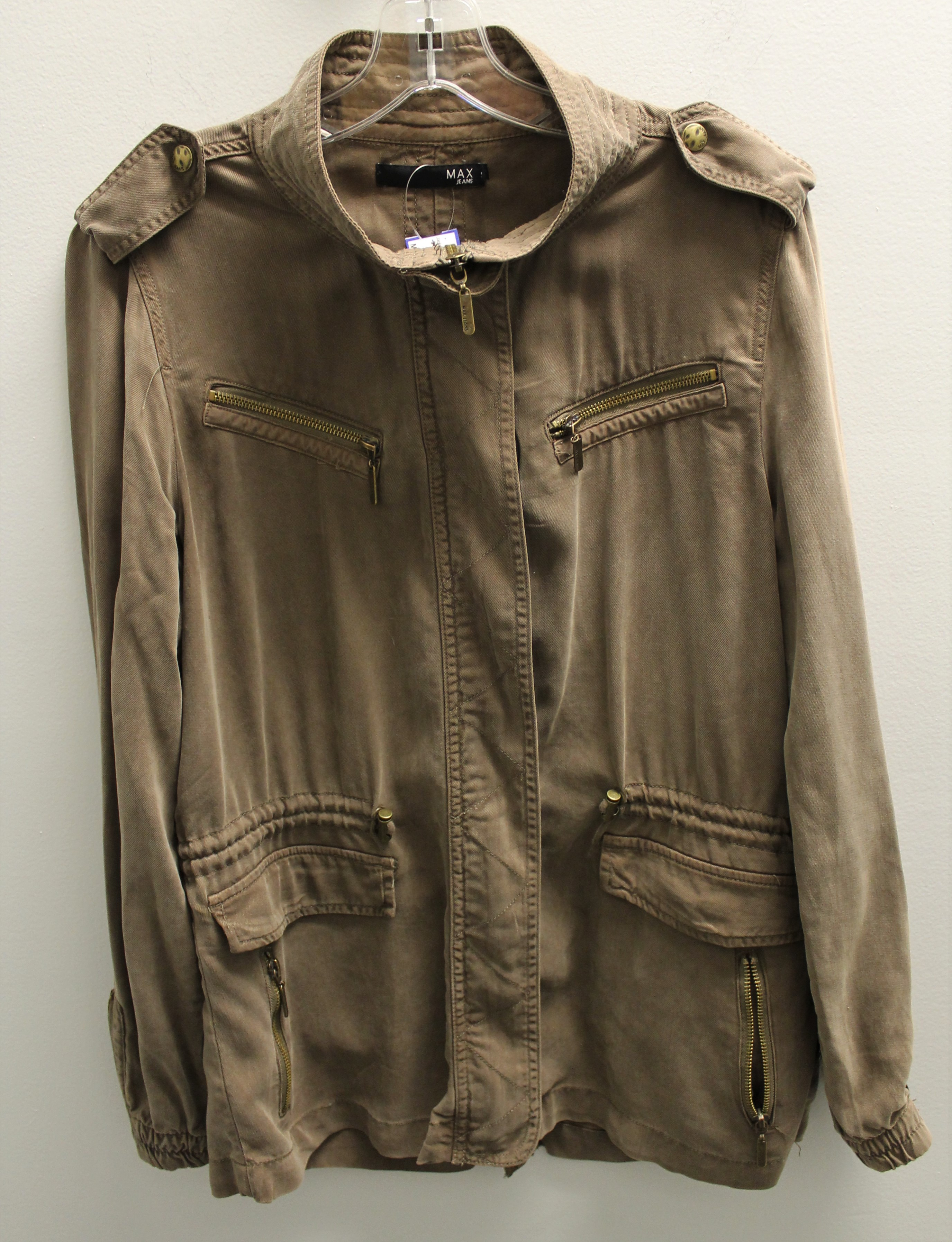 MAX-JEANS-Size-M-810-Brown-Tencel-Solid-Jacket-Outdoor_85035A.jpg