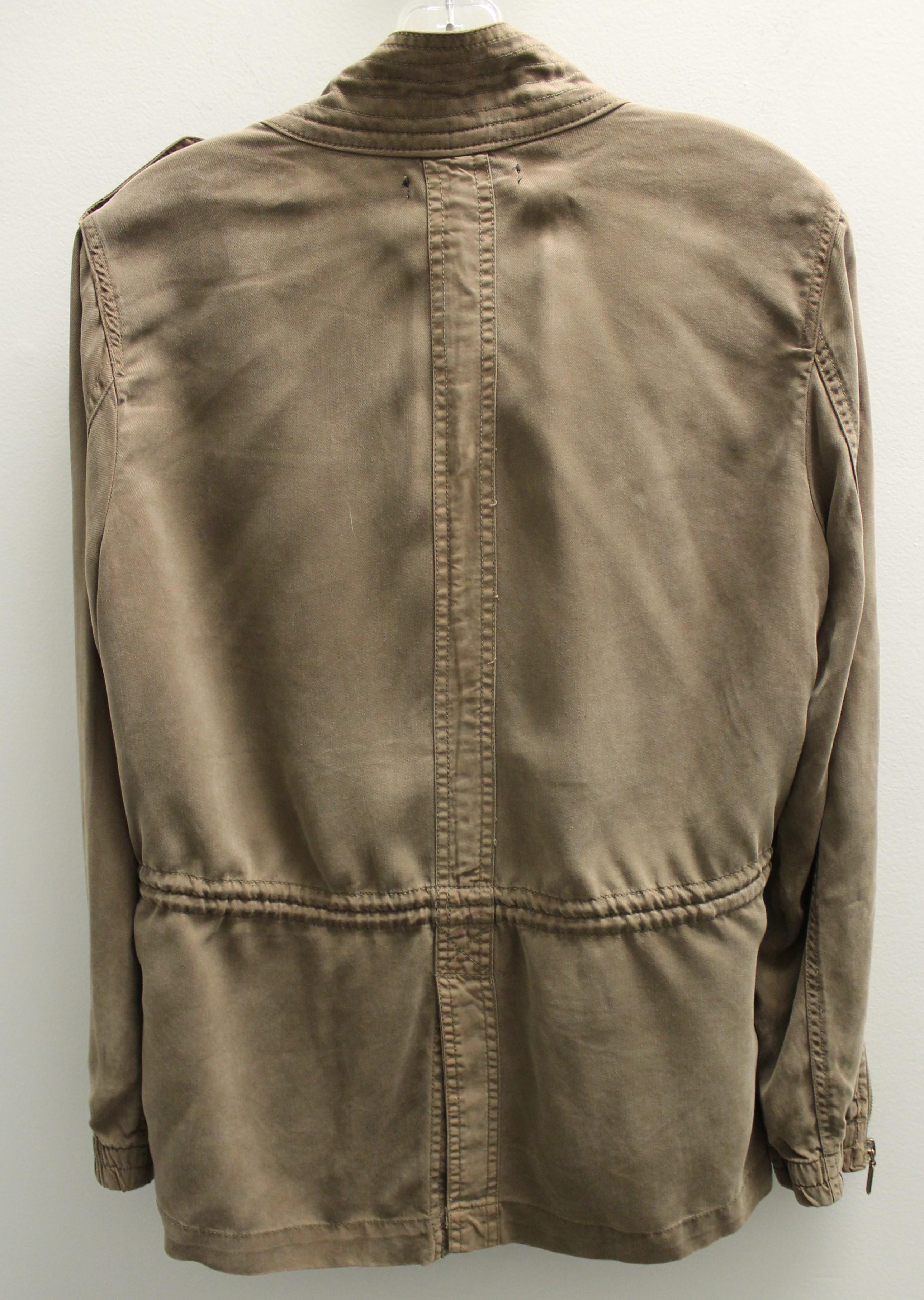 MAX-JEANS-Size-M-810-Brown-Tencel-Solid-Jacket-Outdoor_85035C.jpg