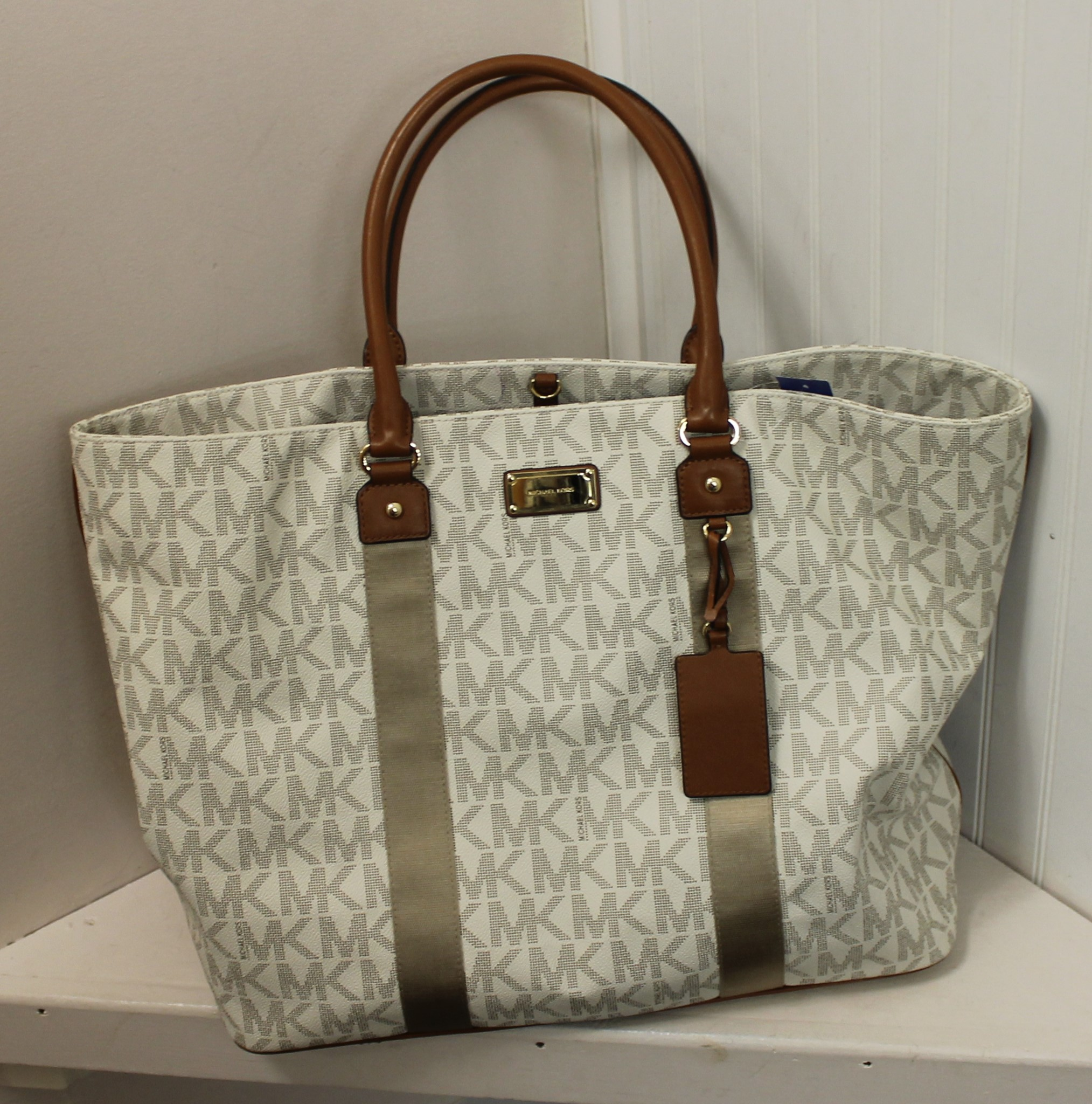 MICHAEL-KORS-WHITE-BROWN-GRAY-LEATHER-AND-CANVAS-LOGO-TOTE_69120C.jpg