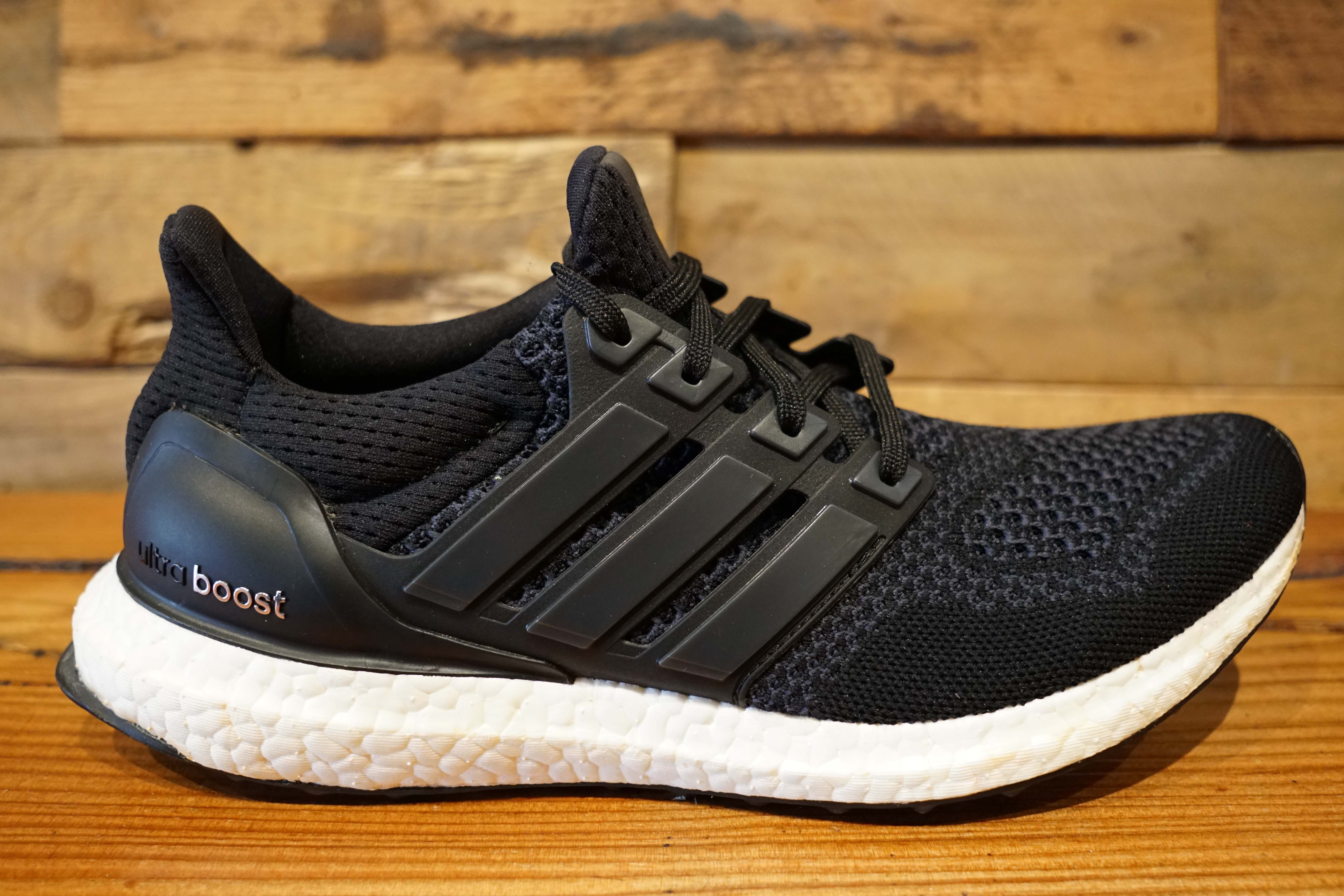 adidas ultraboost 1 0 core black 2015 used replacement box size 8