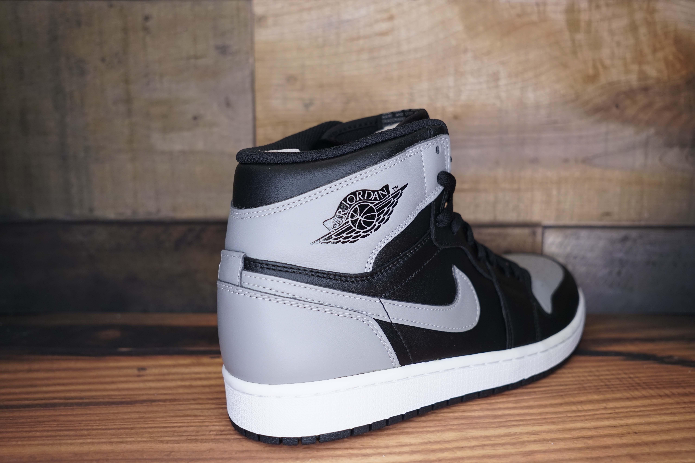 Air Jordan 1 Retro High OG 'Shadow' - 555088-014 - Size 12 - V7UDp5oDfS