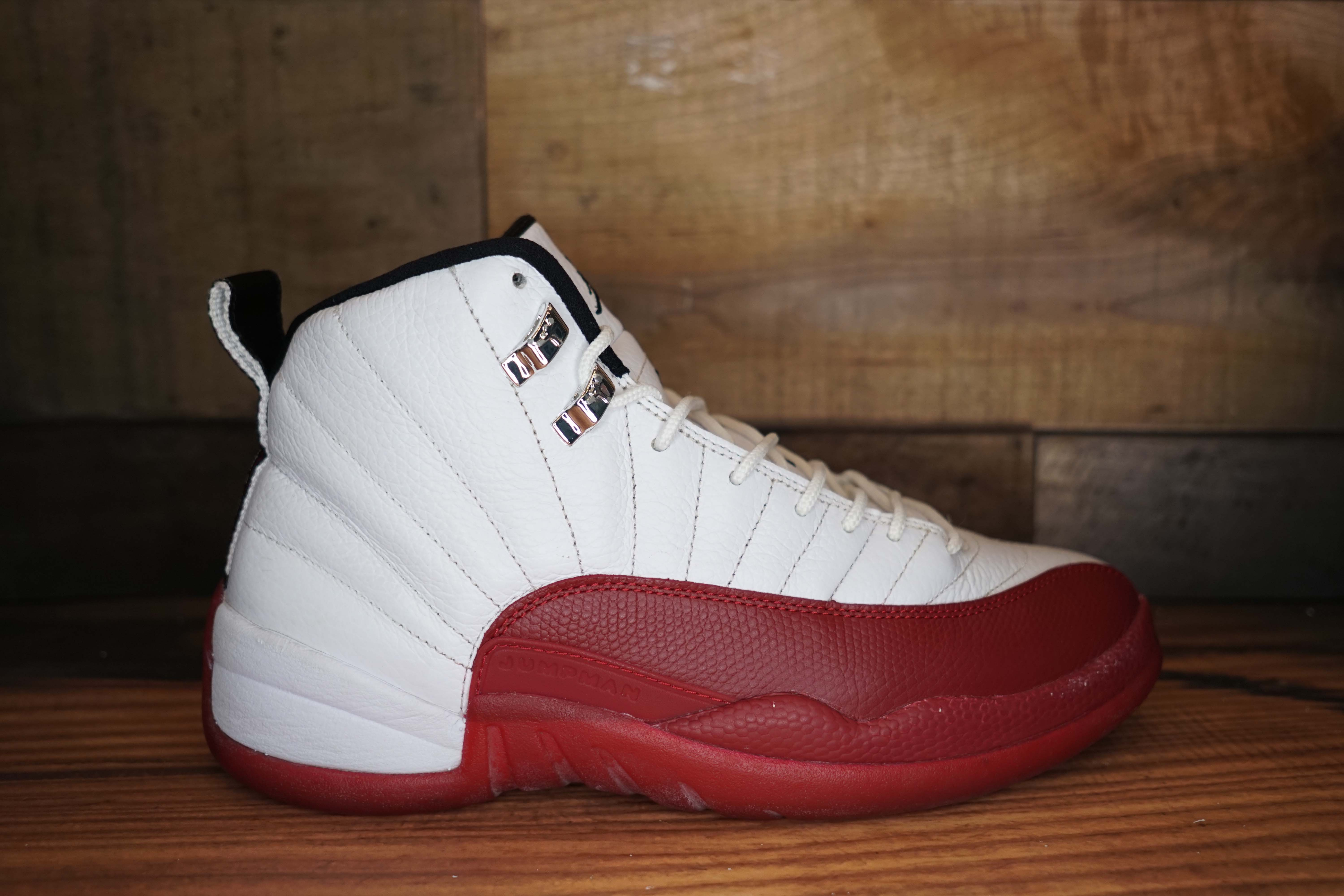 73e18a0e16e Air-Jordan-12-Retro-CHERRY-2009-Used-Original- ...