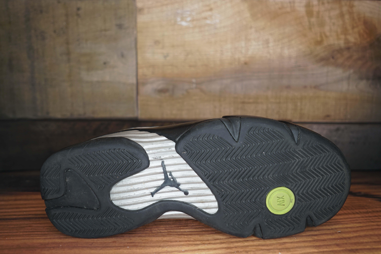 770de3fe5a8 ... wholesale sneaker review 2cf96 6d24f air jordan 14 retro 2005 used  original box 82f12 3a74e