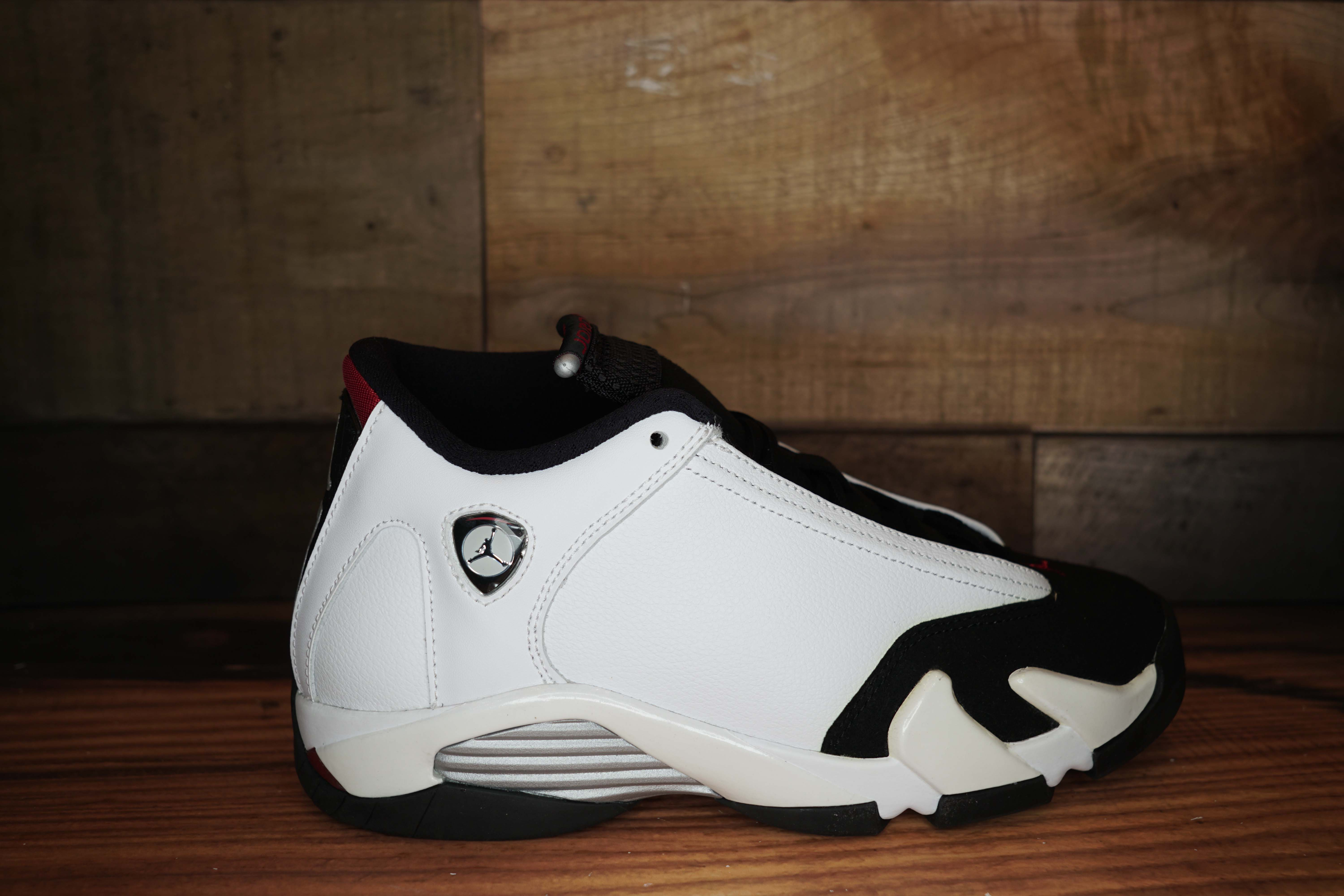 Air Jordan 14 Retro BG BLACK TOE 2014