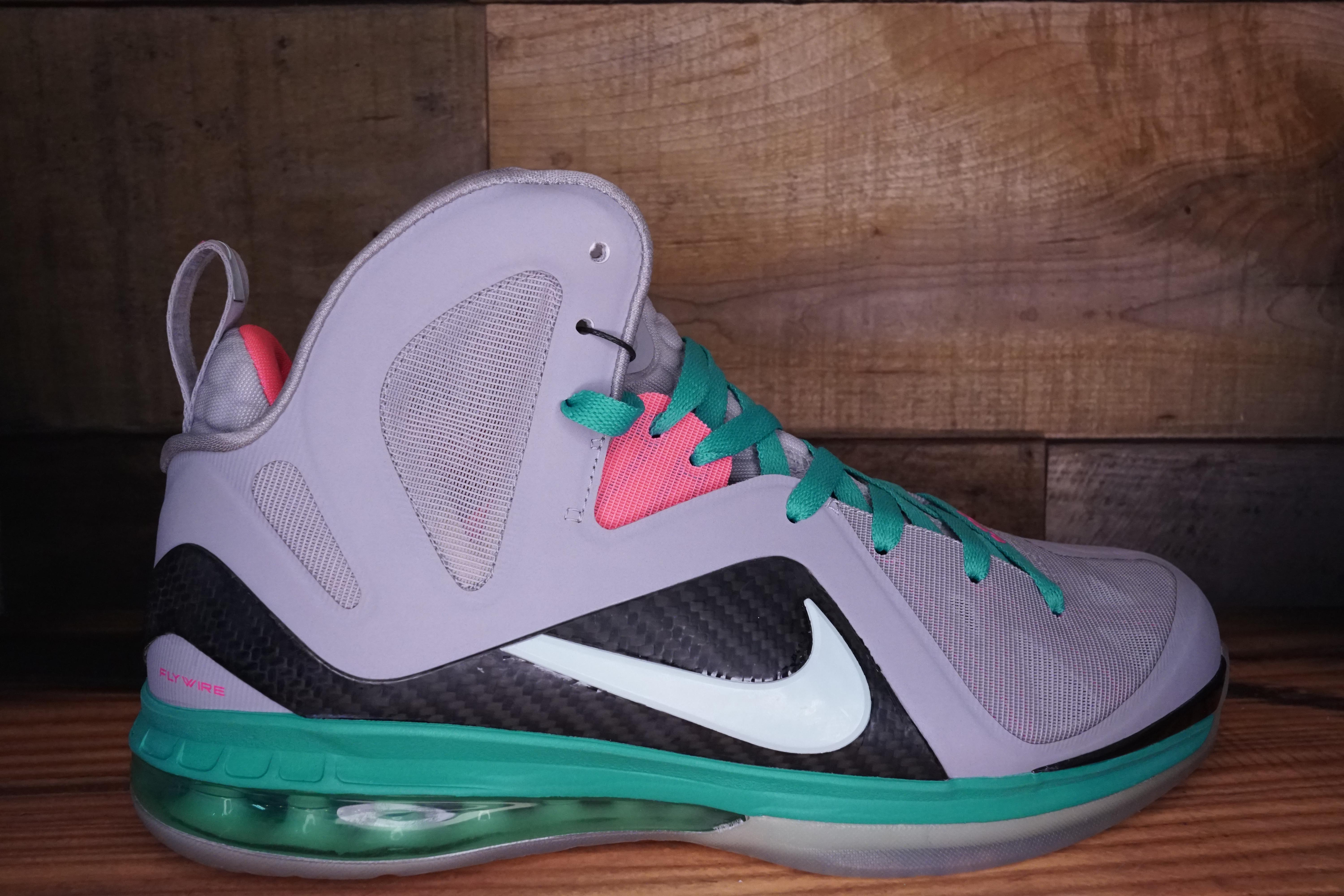 competitive price 637f5 d3ad2 LeBron-James-9-Elite-SOUTH-BEACH-2012-New-