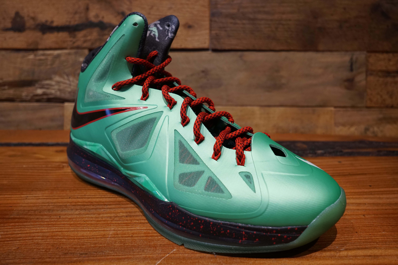 Nike-Lebron-X-CUTTING-JADE-2012-Used-Original-