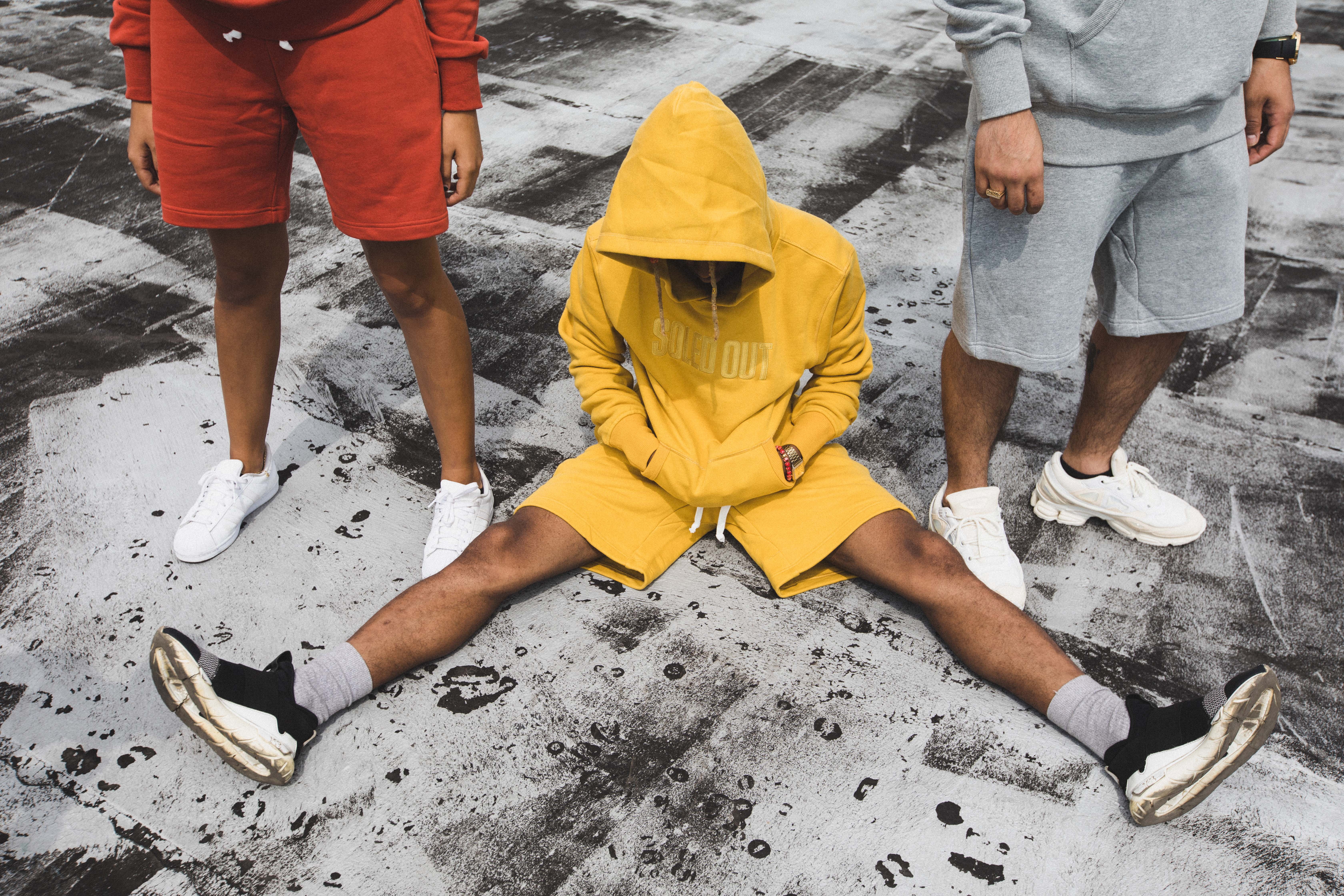 Soled-Out-Sweat-Shorts-Yellow-Size-M_12107B.jpg