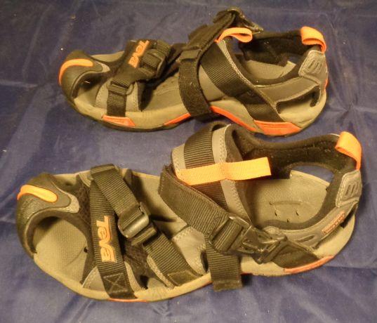 Teva Mens Water Shoe Orangeblk Superior Seconds