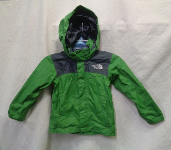 0da2d4f94 The North Face Kids Rain Jacket Green S